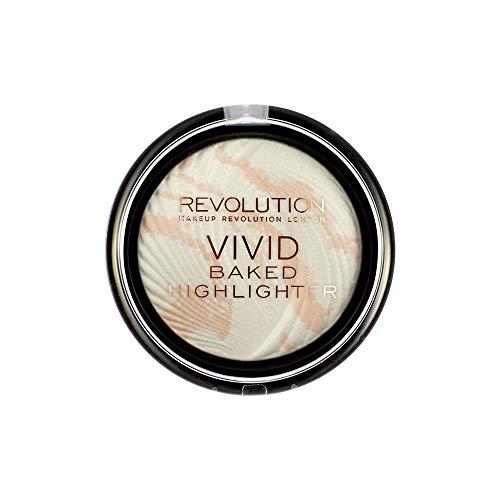 MAKEUP REVOLUTION Vivid Baked Highlighter Matte Lights, 8 g