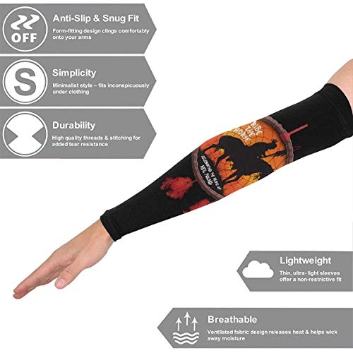 Wdskbg Arm Sleeves Neil Young Crazy Horse Compression UV Protection Cooling Arm Cover Gloves for Women Men 1 Pair