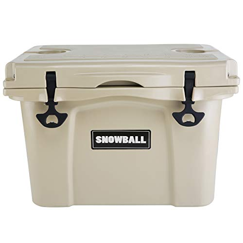 Snowball Coolers, Rotomolded Insulation Ice Chest for Camping, Fishing,...