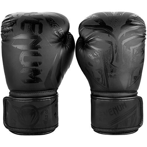 Venum Gladiator 3.0 Boxhandschuhe, Unisex, Erwachsene, Mattschwarz, Einheitsgröße (Größe Hersteller: 10oz)