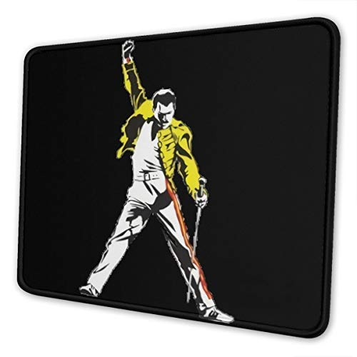 Mouse Pad with Stitched Edge Gaming Mouse Mat Non-Slip Rubber Base Mousepad for Laptop Computer Pc 10×12 Inches