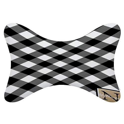 monogram headrest covers - 6