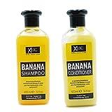 XHC Xpel Haarpflege Banane Shampoo und Conditioner Combo 400ml