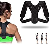 Superior Posture Corrector for Men and Women Comfortable and Discreet Under Clothes Effective Clavicle Brace for Neck Shoulder Back Pain Relief Fully Adjustable Spinal Brace for Slouching
