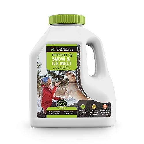 Pet Safe Snow & Ice Melt | Eco Home & Garden Solutions | 12 lbs