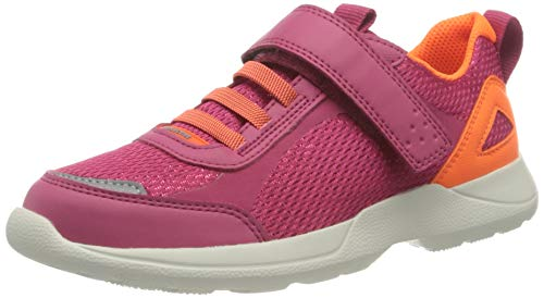 Superfit Rush Sneaker, ROT/ORANGE, 34 EU