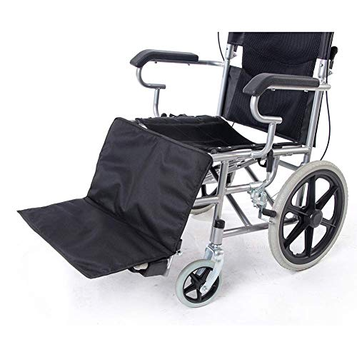 QEES Wheelchair Leg Rest Pad, Heavy Duty Thicken Wheelchair Footrest Extender, Comfortable Wheelchair Low Profile Leg Support