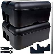 Roshield 2 Tamper Proof Rat Poison Box - Safety Control To Keep Pets And Children Away