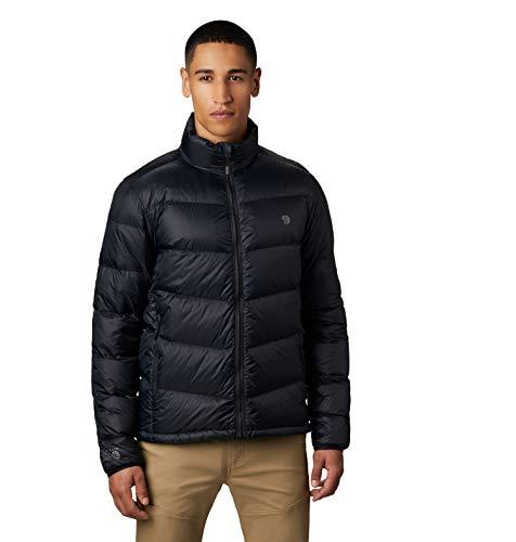 Mountain Hardwear Men's Mt. Eyak Down Jacket - Black - X-Large