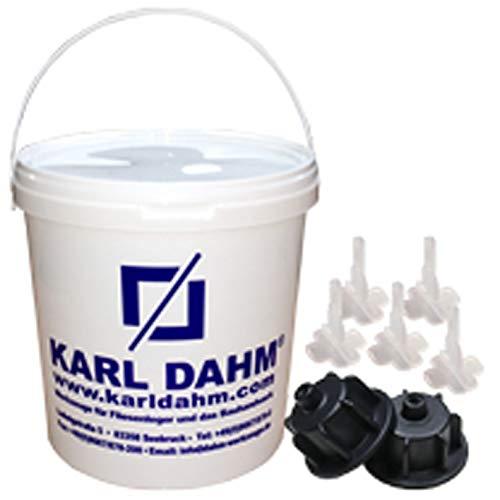 Tegel Nivellering Systeem van Karl DAHM – De originele Tegel 12450 Basisset van 3 – 12 mm voor zang van de Duitse leider