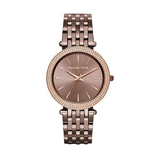 Michael Kors Reloj Analogico para Mujer de Cuarzo con Correa en Acero Inoxidable MK3416