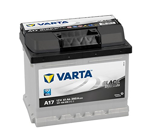 VARTA 5414000363122 Autobatterien Black Dynamic A17 12 V 41 mAh 360 A