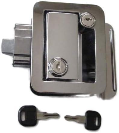 HH New RV Entry Door Lock Handle Attention brand Knob New arrival Deadbolt Camper Chrome