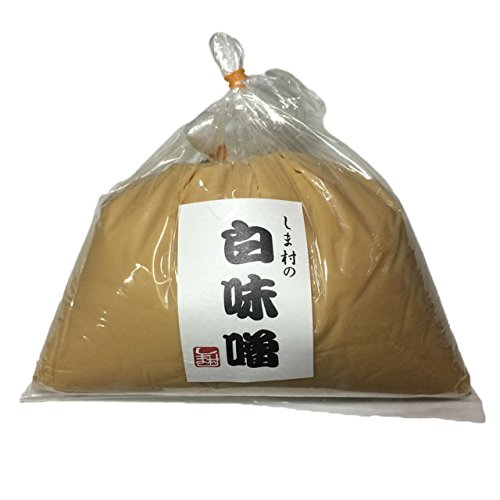しま村 しま村の白味噌 1.0kg袋入り