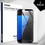Aribest Galaxy S7 Panzerglas Schutzfolie,[3 Stück] Panzerglasfolie Für Samsung Galaxy S7, 9H Härte/Anti-Kratzen/Blasenfrei, Displayschutzfolie Für Samsung Galaxy S7