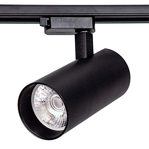 LED FOCO CARRIL SPOT NEGRO 30W 4200K LUZ NEUTRA