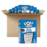 Pop-Tarts Cookies & Creme Breakfast Toaster Pastries, 96 Count (Pack Of 12, 13.5 Oz Boxes)