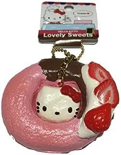 Ruksikhao Sanrio Hello Kitty Lovely Sweets Strawberry Donut Squishy