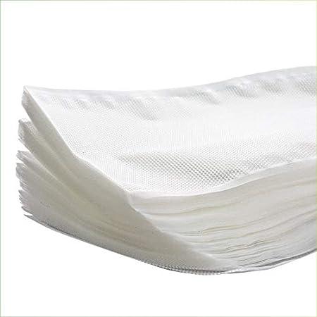 Virsus Buste sottovuoto alimenti sacchetti goffrati 105 micron 25x35