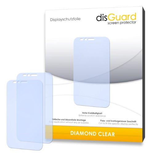 3 x disGuard Diamond Clear Bildschirmschutzfolie für Archos 50 Platinum-Qualität, klar, Antihaft-Beschichtung, Festplatte, blasenfreie Montage