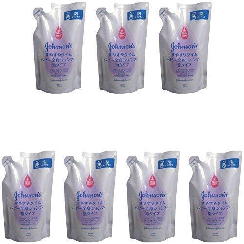 [Bulk Purchase] Johnson Easy Time Baby Whole Body Shampoo Foam Type Refill 350mL [x7 Pieces]