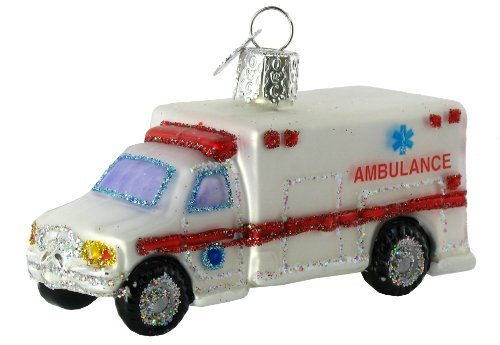 Old World Christmas Doctor Tools Glass Blown Ornaments for Christmas Tree Ambulance