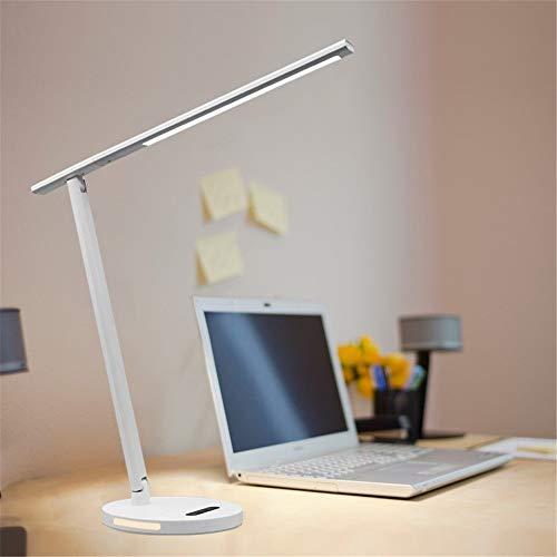 Led-bureaulamp, dimbare daglichtlamp, 3 verlichting, touch-control, tafellamp voor school, nacht, kantoor, lezen, hobby en nog veel meer.