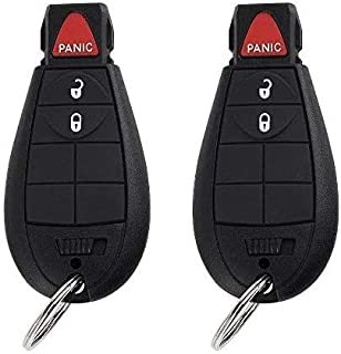 Key Fob Compatible for 2008-2012 Dodge Challenger,2008-2010 Dodge Charger Keyless Entry Remote Car Key Fob Replacement for... photo