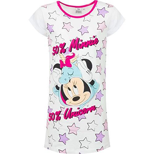 Minnie Nachthemd für Mädchen, Weiß 8 Jahre