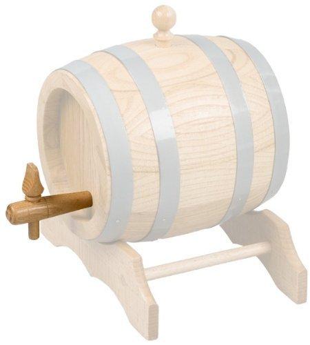 Gravidus Holz Zapfhahn für Fässer Bierfass 1-2 Liter