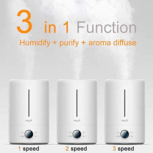 Xiaomi deerma DEM F628S 5L Air Humidifier Diffuser Purifier