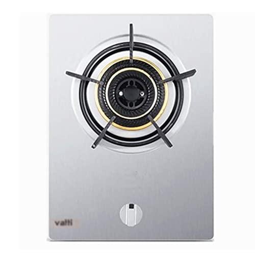 Nueva cocina de gas Estufa de gas 43CM Estufa de 1 quemador, 4.2kw Fuego feroz, con encimera de sobremesa y soportes de hierro fundido Protección contra fallas de llama [Clase energética A] (Color: A,