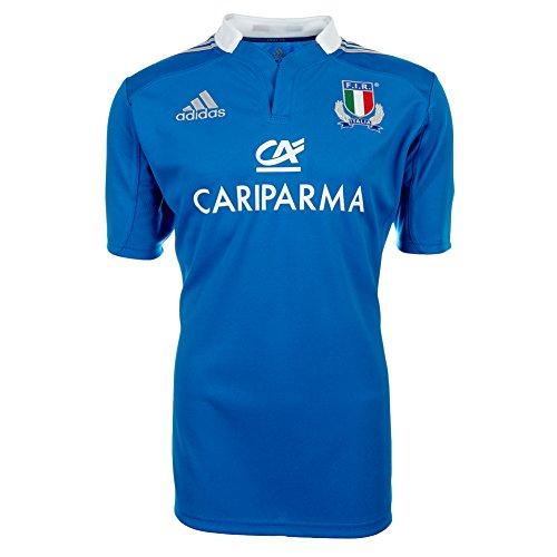 Adidas Fir H Jsy W69065 Herren Kurzarm T-shirts Rugby Blau