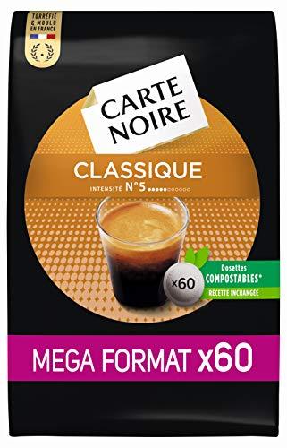 Carte Noire Café Classique N°5 - 60 dosettes...