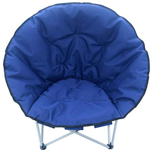 Unbekannt Sparmeile Ambientehome Chaise de Camping Saphir/Bleu