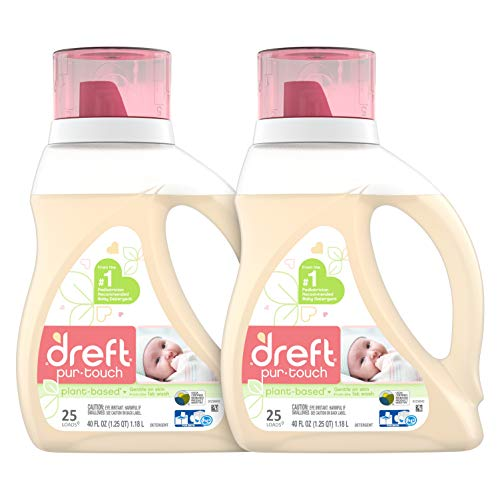 Dreft Purtouch Baby Liquid Laundry Detergent, Hypoallergenic for...