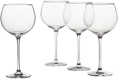 Lenox Tuscany Classics 4pc Beaujolais Wine Glass, 3.05 LB, Clear