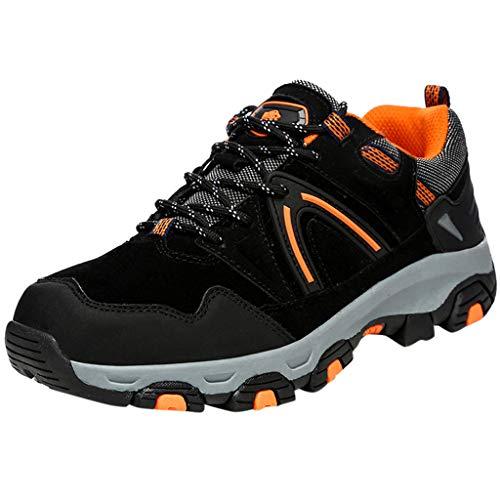 Al Aire Libre Zapatos de Senderismo,Antideslizante Zapatillas de Deporte,ZARLLE Hombres Talla Grande Botas de Campo,Viajar Zapatos de Seguridad,2019 Zapatos Casuales