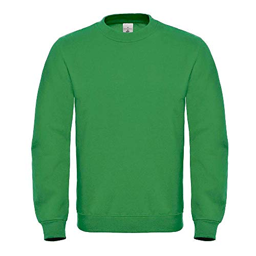 B&C Collection WUI20 Mens ID.002 Sweatshirt - Kelly Green - X-Large