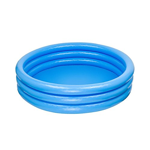 Intex Inflatable Swimming Paddling Play Pool 3 Ring Blue Toy Kids Childs Childrens Baby Family Sizes - 45'' , 58'' , 66'' Diameter (45'' x 10'')