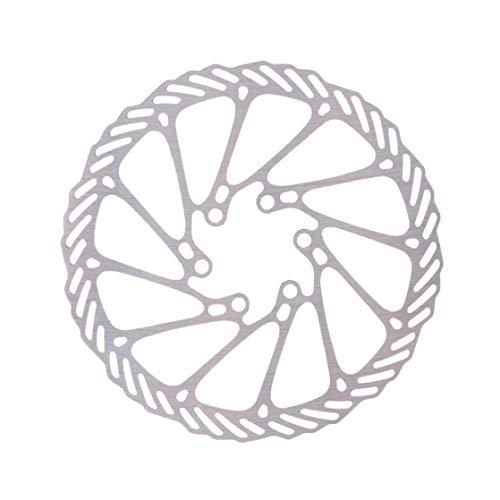 180 mm de Bicicletas Bicicleta del Freno de Disco de Freno de Disco Center Lock Rotores Rotores de Acero Inoxidable con 6 Tornillos para Suministros Camino de Bicicletas de montaña MTB Bici de BMX