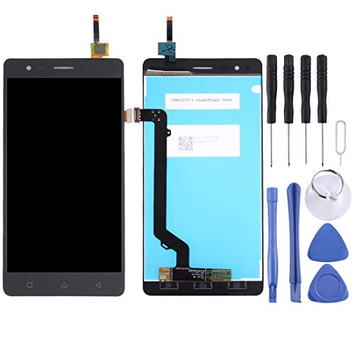 Zhangli Mobile Phone LCD Screen LCD Screen and Digitizer Full Assembly for Lenovo K5 Note (Black) LCD Screen (Color : Black)