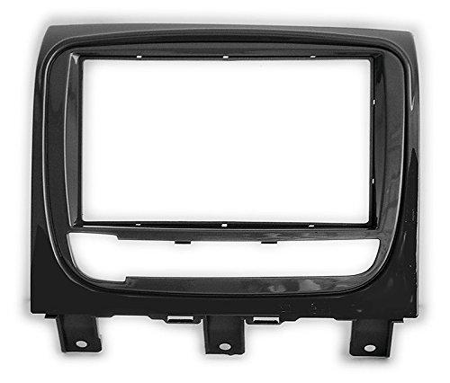 CARAV 11 – 686 doble DIN radio de coche, panel de radio en el salpicadero, kit de instalación de audio para Fiat Strada 2012 +