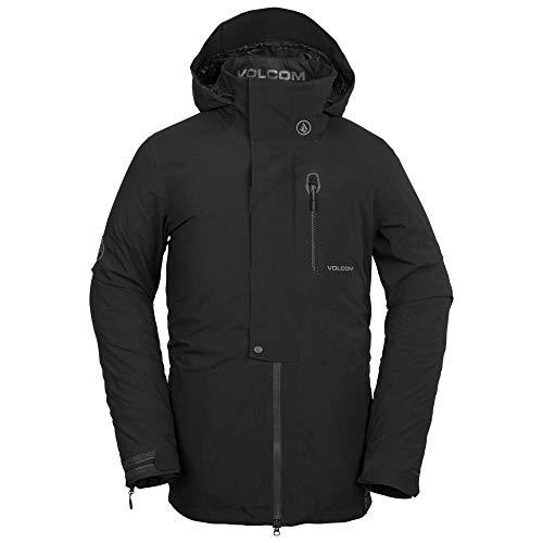 Volcom BL Gore-Tex 2 Layer Stretch Snow Jacket Giacca in Materiale Isolante, Nero, XS Uomo