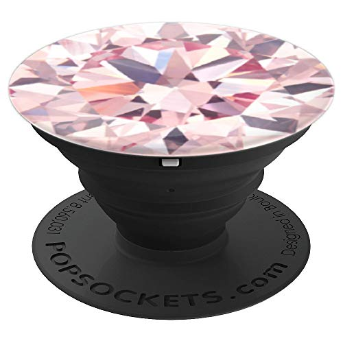 PINK DIAMOND PopSockets Grip and Stand for Phones and Tablets