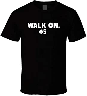 Mens Baker Mayfield Cleveland Football Walk On First Pick Cool Fan Black Funny Cotton T-Shirt