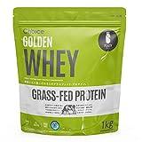 Choice GOLDEN WHEY ( ゴールデンホエイ ) ホエイプロテイン プレーン 1kg [ 人工甘味料 GMOフリー ] グラスフェッド プロテイン 国内製造