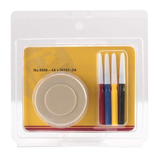 Kit de Reparación de Relojes Juego de Engrasador de Relojes de Plástico Pequeño Reloj Portátil Taza de Aceite Con Taza de Aceite Y Bolígrafo de Aceite Para Relojero Relojes Reparación de Relojes