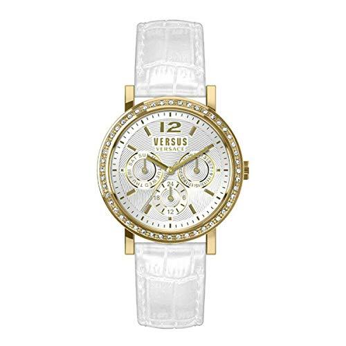 Versus by Versace Manhasset VSPOR2219 - Reloj de pulsera para mujer (piel)