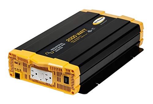 Go Power! GP-ISW2000-12 Industrial Pure Sine Wave Inverter (Renewed)